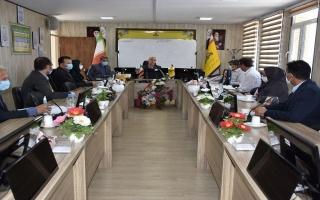 جلسه کمیته گازرسانی با حضور مدیرعامل شرکت گاز استان البرز برگزار شد