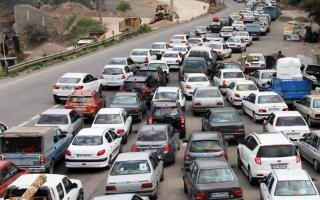 ترافیک سنگین در جادههای مازندران؛ ممنوعیت تردد از مرزن آباد به کرج