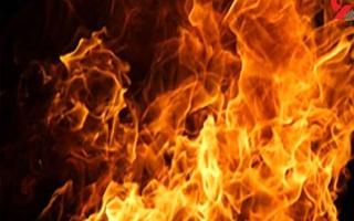 آتش سوزی در شهر لبنیات اسلامشهر