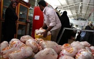عرضه گوشت مرغ با نرخ مصوب در البرز
