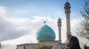 مراسم گرامیداشت هفته ارتباطات و روابط عمومی در مرقد مطهر امامزاده طاهر(ع)