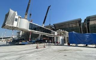 طراحی، ساخت و نصب تجهیزات فرودگاه جدید کیش توسط یک شرکت البرزی