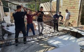 تخریب ۵ مورد ساختوساز غیرمجاز در منطقه چهار