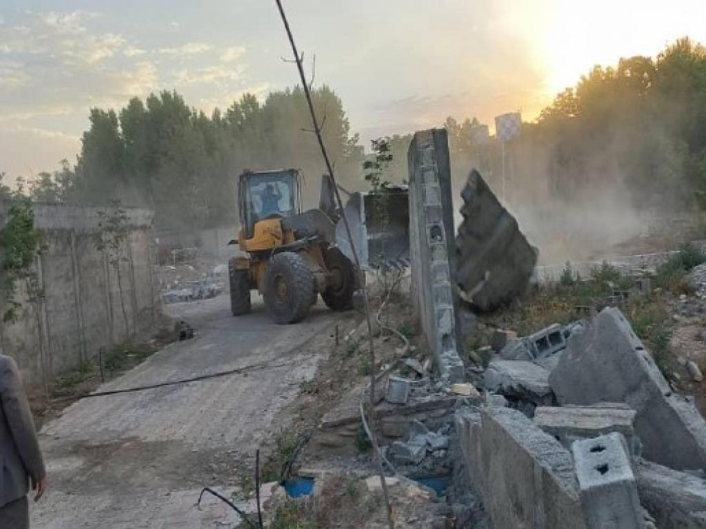 آزادسازی 37 هکتار از اراضی تغییر کاربری یافته «کردان»