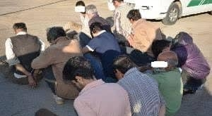 دستگیری 14 سارق در شهر جدید هشتگرد